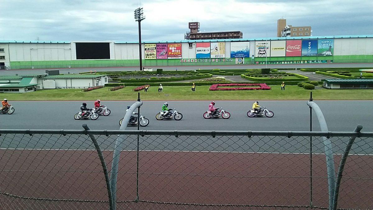 川口オートレースで勝ち車券を購入ス!
